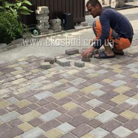 СТАРЫЙ ГОРОД 60 мм Тротуарная плитка вибропрессованная HESS