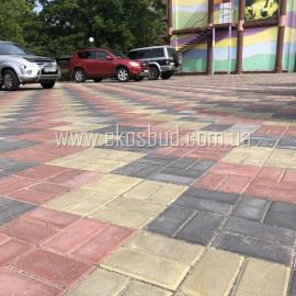 Кирпич 60мм Тротуарная плитка вибропрессованная