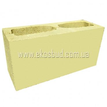 Блок декоративный 398х180х140 (гладкий)