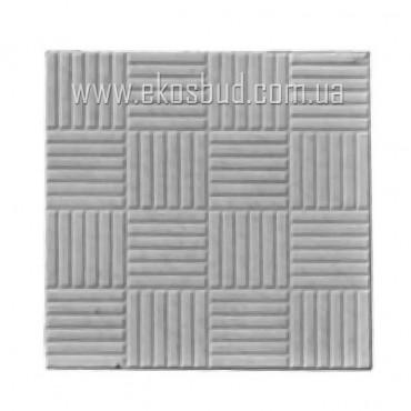 Тротуарная плитка квадрат-печенье