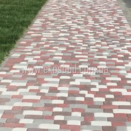СТАРЫЙ ГОРОД 40 мм Тротуарная плитка вибропрессованная